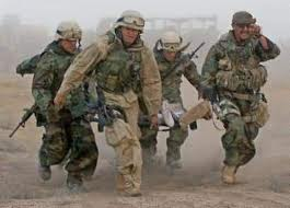 Afghanistan wounded carry
