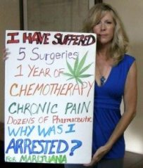 pot legal harassed woman