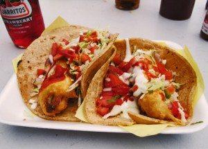 Mariscos' tacos