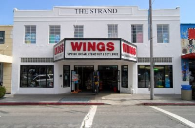 Strand Theater now Wings