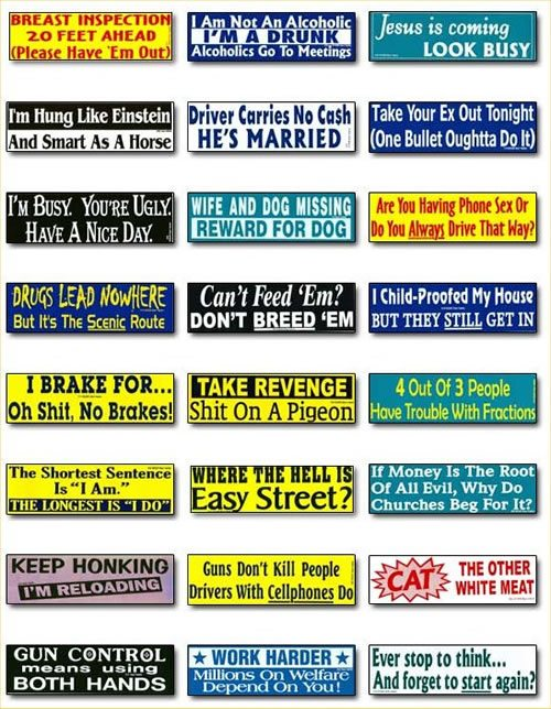 bumper_stickers lot