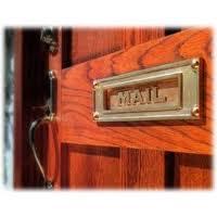 Thin mail slots who gives a crap buy