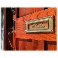 Attractive Mail Slot By Judi Curry