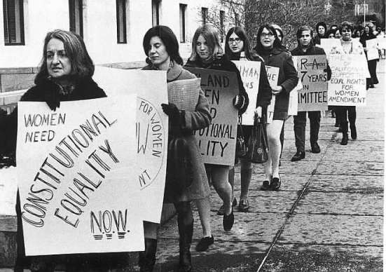 women equality Betty Friedan 1971
