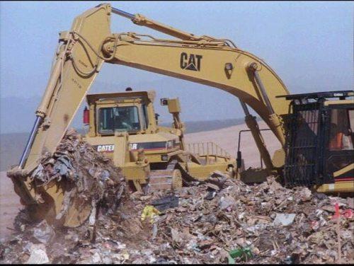 Miramar landfill trash