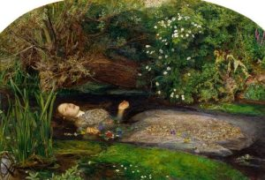 "John Everett Milllais: ""The flood control is lovely in spring"""