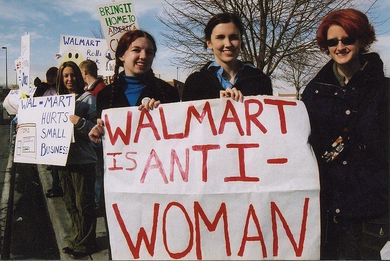 Wal-mart sex discrimination