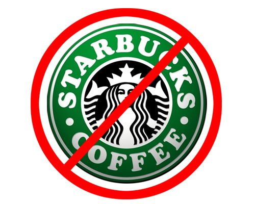 Image result for no starbucks