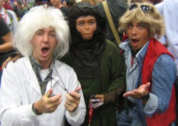 ComicCon 2011 planet of the apes back to the future