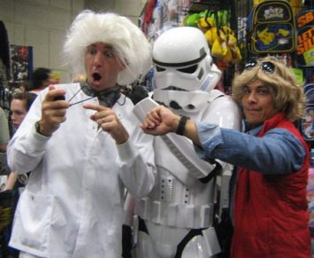 ComicCon 2011 back to the future storm trooper