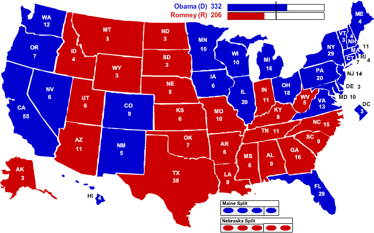 Red States And Blue States Map Post Election Thoughts … What if the Blue States seceded from the
