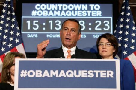Boehner sequest
