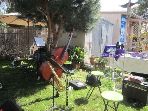 OB Wisteria Party 3-23-13 instrumts