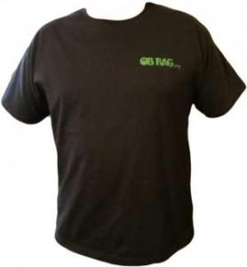 OB Rag T-shirt Grn front