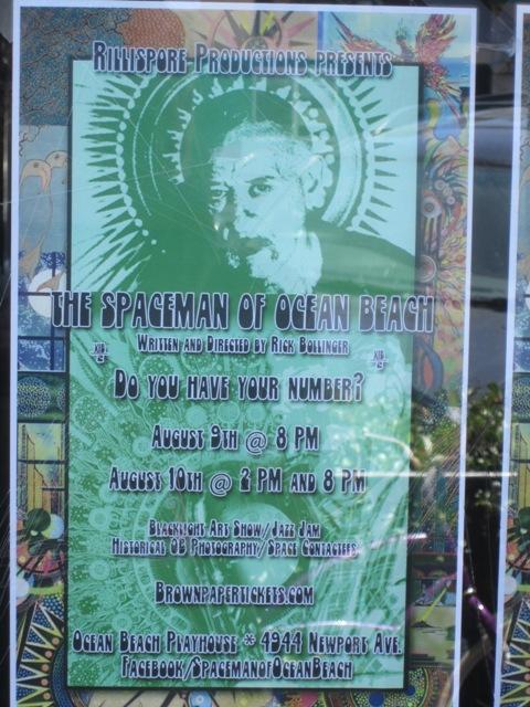 OB Newport 7-16-13 Spaceman Poster