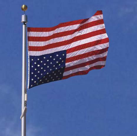 american flag-upside