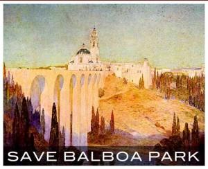 Balboa Park save poster