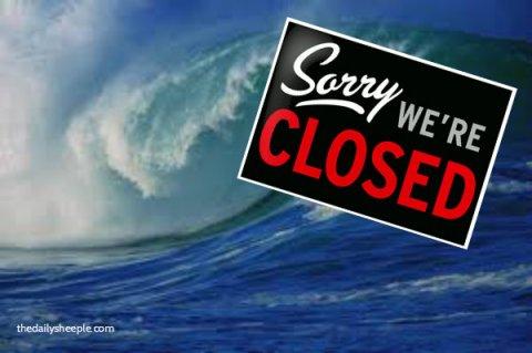 Ocean closed