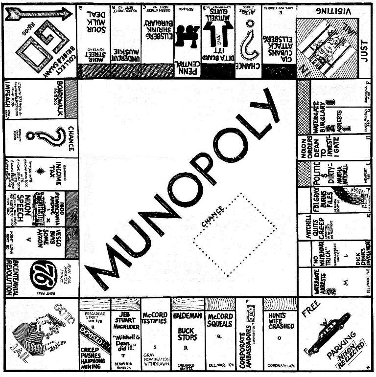 "Latest Ocean Beach ""Monopoly"" Board Game Not the First for OB"