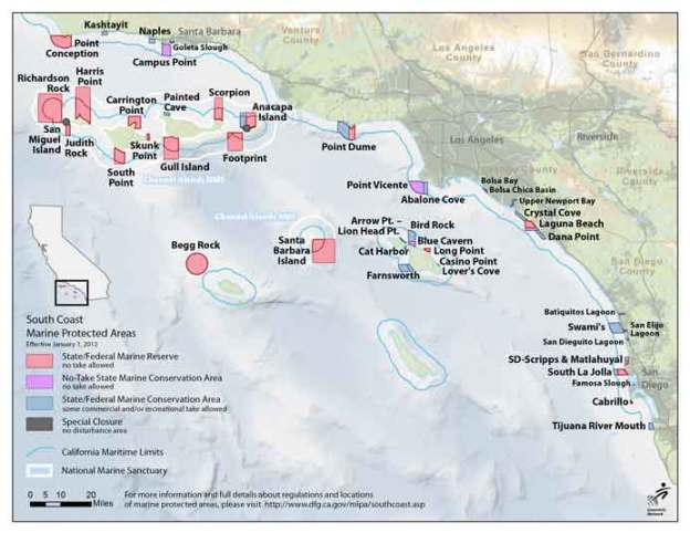 marine protected areas SoCal