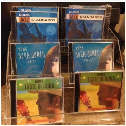 starbucks mock CDs