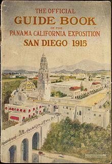 Calif Panama Expo book 1915