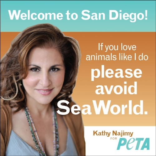 Seaworld anti ad Peta