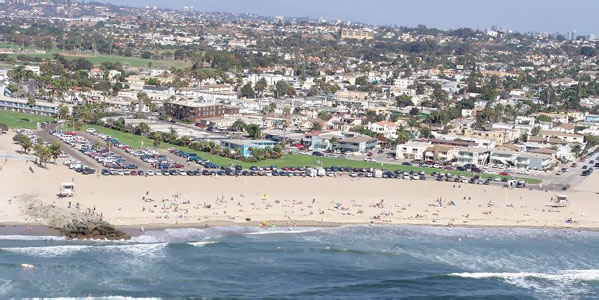 Ocean beach beachfront