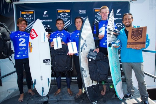 Pt Loma HS Surf team 2014