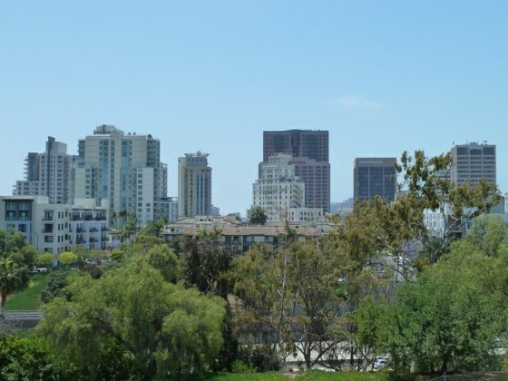 san diego from east