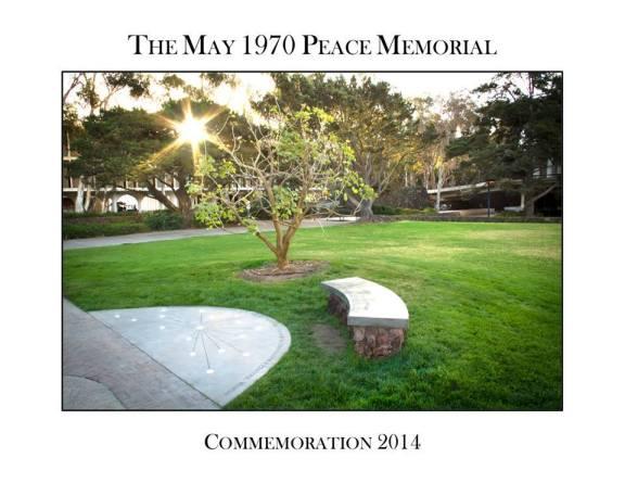 UCSD Memorial Bench