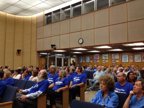 OBceans in council chambers, July 29, 2014