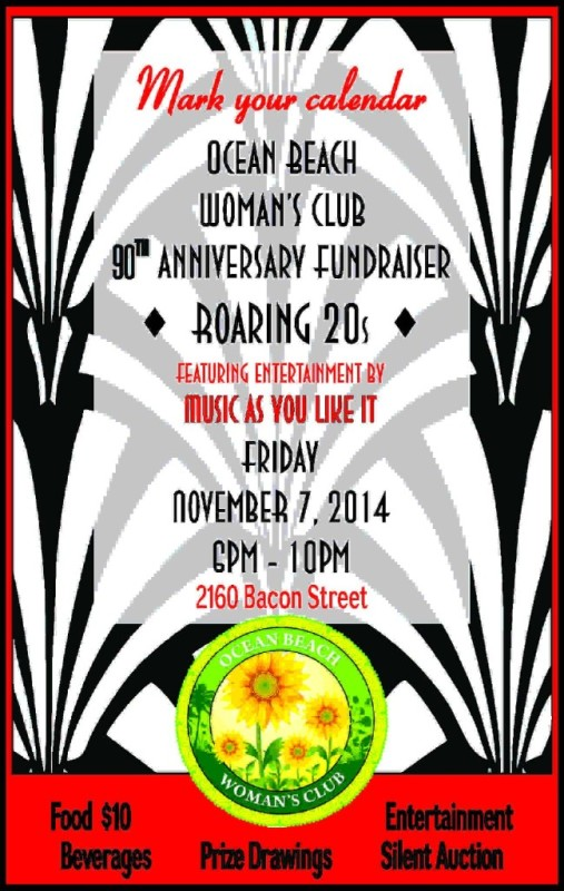 OB Womans Club poster 11-7-14
