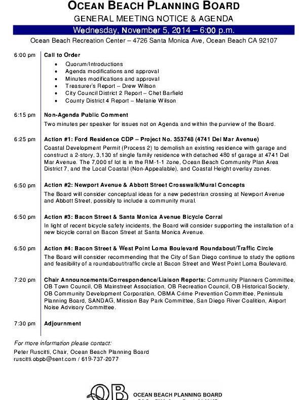 OBPB Agenda 11-5-14
