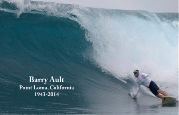 Barry Ault surfer