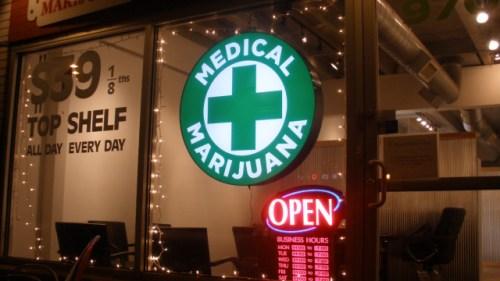 Medical MJ storefront