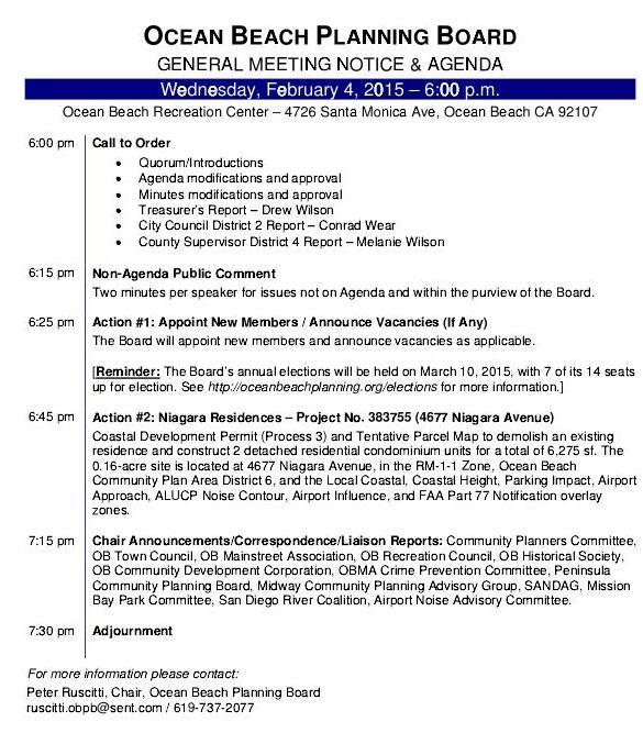 OB Plan Bd agenda 2-4-15