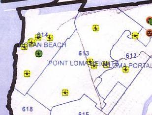 OB Police precinct map OB-PL