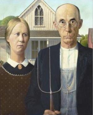 American gothic grantwood