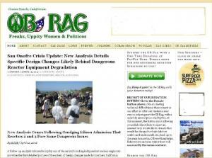 OB Rag Homepage -ed