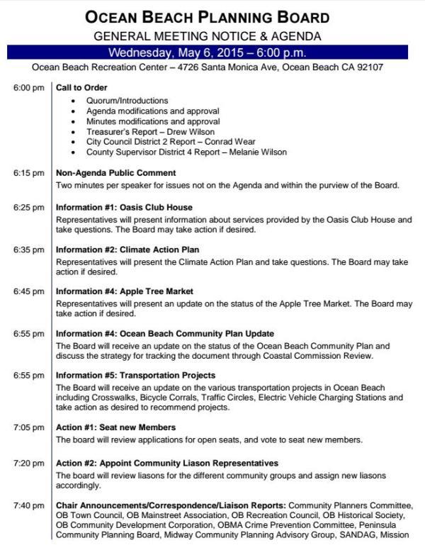 OBPB Agenda 5-6-15