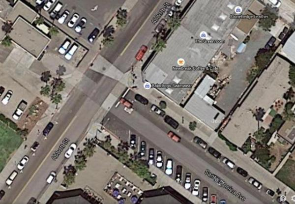 OB Abbott Sta Monica aerial