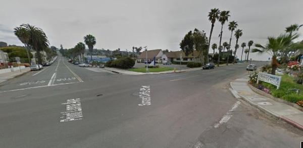 OB Pt Loma n Sunset Clf street