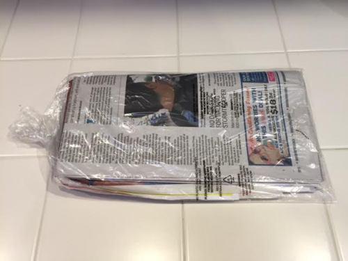 OB plastic bags mh 01