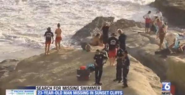 OB search swimmer 8-30-15