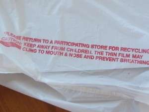 plastic bags childwarn
