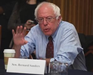 Bernie Sanders desk