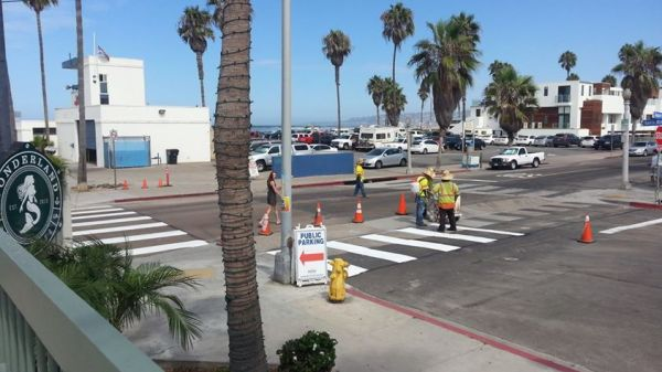 OB Crosswalk Abbott Sta Monica ae