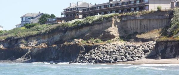Erosion Oregon coast