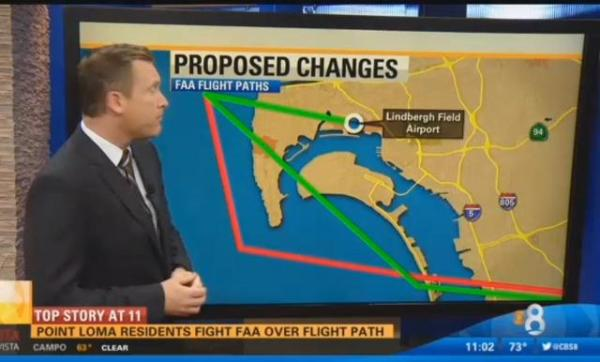 Pt Loma FAA changes map